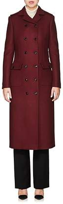Barneys New York Women's Wool-Blend Double-Breasted Coat