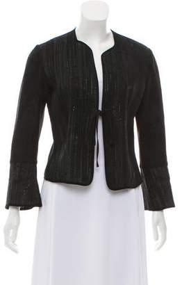 Valentino Textured Leather Jacket