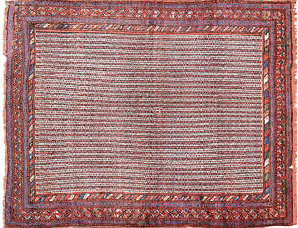 "One Kings Lane Vintage Antique Persian Rug - 5'1"" x 6'7"" - Orientalist Home"