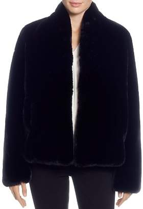 T Tahari Faux-Fur Jacket