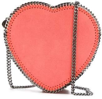 Stella McCartney 'Falabella' heart crossbody bag