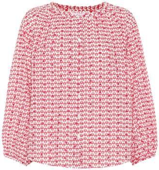 Velvet Oprah cotton blouse