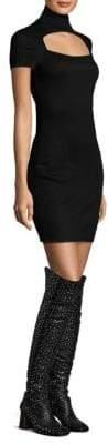 Helmut Lang Cutout Bodycon Dress