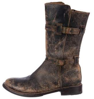 Bed Stu Distressed Leather Boots