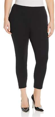 Lysse Plus Cropped Ankle-Zip Leggings