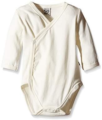 Pippi Unisex Baby Wrap-Around Long Sleeve-Solid Bodysuit,(Manufacturer Size:68)