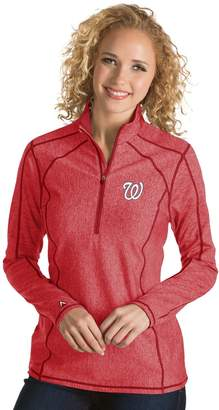 Antigua Women's Washington Nationals Tempo Pullover