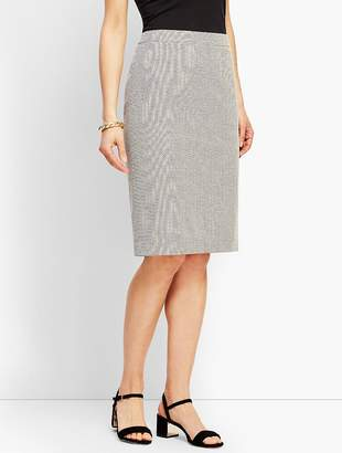 Talbots Square Dobby Skirt