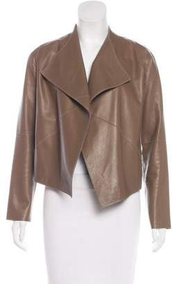 Graham & Spencer Long Sleeve Leather Jacket