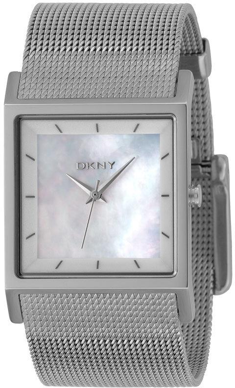 DKNY Stainless Steel Mesh Bracelet Watch