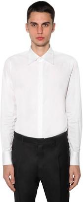 DSQUARED2 Slim Fit Cotton Poplin Shirt