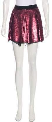 Proenza Schouler Sequined Mini Skirt