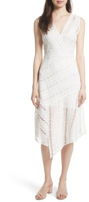 Women's Tracy Reese Lace Midi Dress $348 thestylecure.com