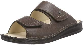 Finn Comfort Mens 1505 Riad Karbo Leather Sandals 10.5 US