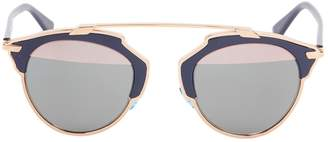 Christian Dior So Real Navy Metal Sunglasses