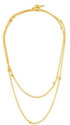 Yossi Harari 24K Diamond Station Necklace