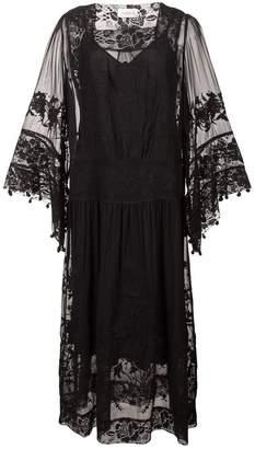 Zimmermann lace detail smock dress