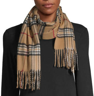 Fraas Plaid Oblong Cold Weather Scarf