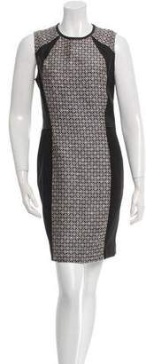 Yigal Azrouel Cut25 by Jacquard Scuba Combo Dress w/ Tags