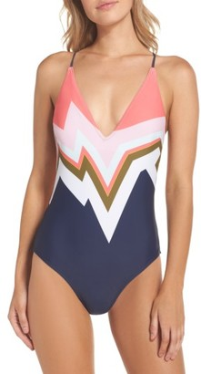 Women's Ted Baker London Mississippi Print One-Piece Swimsuit $139 thestylecure.com