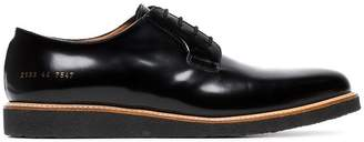 Common Projects black patent leather Derby shoes
