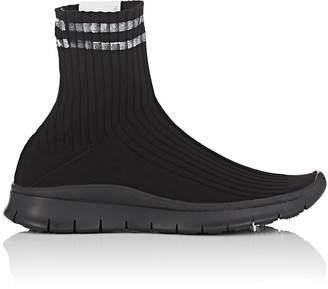 Maison Margiela Women's Stripe-Detail Sock Sneakers