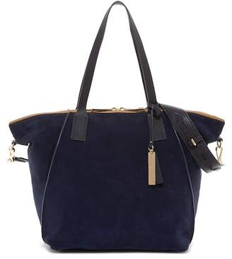 Vince Camuto Alcia Suede & Leather Tote