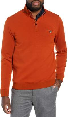 Ted Baker Peper Trim Fit Half Zip Pullover