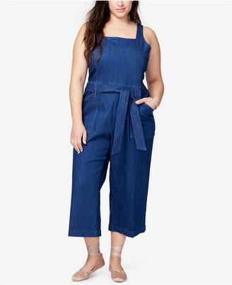 Rachel Rachel Roy Trendy Plus Size Jumpsuit $139 thestylecure.com