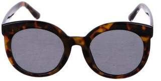 Gentle Monster Round Tortoiseshell Sunglasses