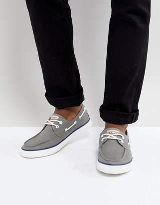 Original Penguin Boat Shoes In Gray