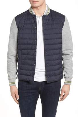 Herno BasketBall Jacket with Contrast Sleeves