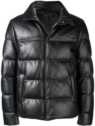 Bottega Veneta padded short jacket