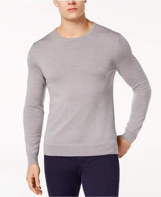 Tasso Elba Men's Merino Wool Sweater, Created for Macy's
