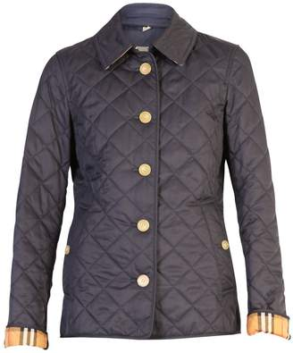 Burberry Blue Frankie Quilted Jacket