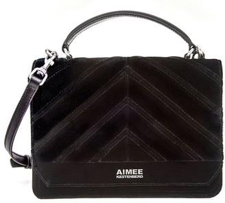 Aimee Kestenberg Velvet Expandable Crossbody - Mia