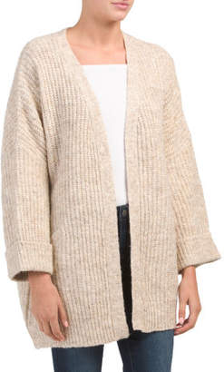 Oversized Rolled Cuff Cardigan