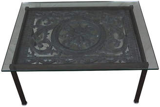 One Kings Lane Vintage French Cast Iron Coffee Table - Schorr & Dobinsky