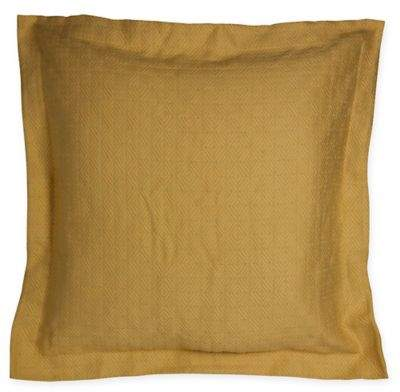 Kenya Floral European Pillow Sham in Tan
