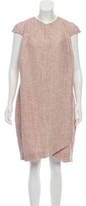 Chanel Bouclé Knee-Length Dress