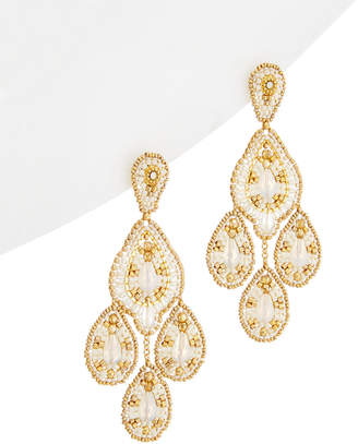 Miguel Ases 18K Plated & 14K Filled Drop Earrings