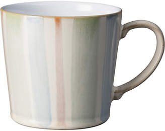 Denby Hand Painted Multi Stripe Large Mug, 400ml
