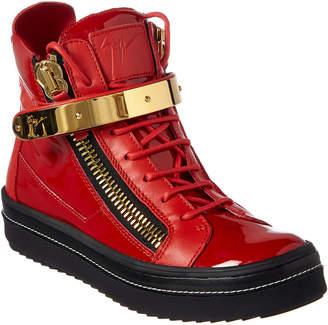Giuseppe Zanotti Leather High-Top Sneaker