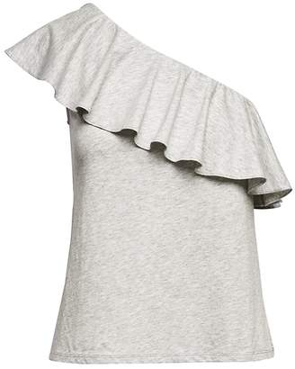 Banana Republic SUPIMA® Cotton One-Shoulder T-Shirt
