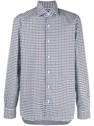Barba classic collared shirt