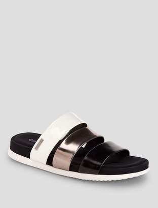 Calvin Klein dalana tricolor sandals