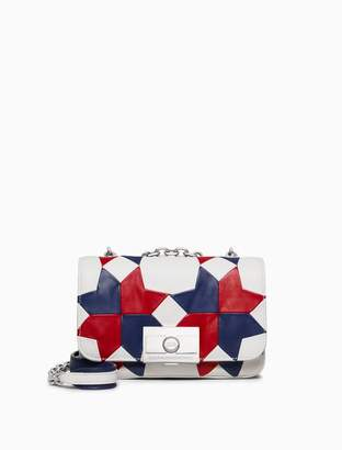 Calvin Klein quilted shoulder bag in nappa leather