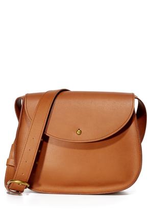Madewell Vachetta Saddle Bag $158 thestylecure.com