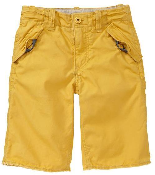 Gap Yellow ripstop shorts