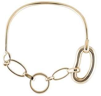 Balenciaga Oval Chain-Link Necklace